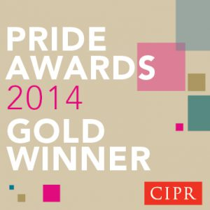 PRide Awards 2014 Gold Winner